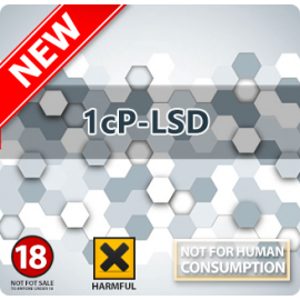 1CP-LSD Blotters (150mcg)